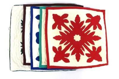"""5 Vintage Country Cabin Pillow Covers Fits 16"""" x 16"""" Pillow Red, Blue, Green"""