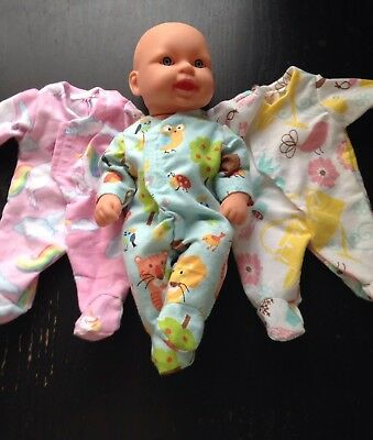 Homemade Baby Tinkers (33cm doll) Coverall - 3 Pattern Choices