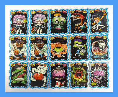 "Twisted Oddbodz ""HOT TWIST"" Cards x15 (Blue Frame) - New Zealand Exclusives"