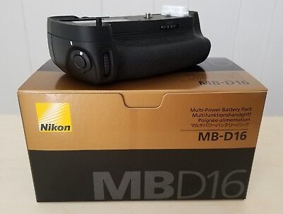 New Genuine Nikon MB-D16 Multi-Power Battery Pack/Grip for Nikon D750 MBD16