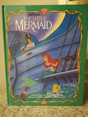 "Disney ""The Little Mermaid"" 90s Hardcover - Ariel - Beautiful Book!"