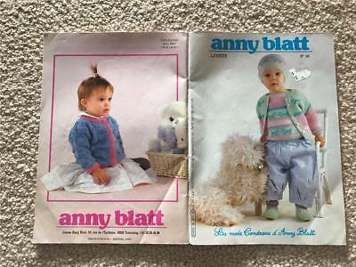 la mode Endresse d' Anny Blatt  LAYETTE KNITTING BOOK 98 KNIT PATTERNS DESIGNS