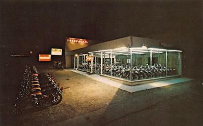 West Chester PA Honda Motorcycle Sales Postcard