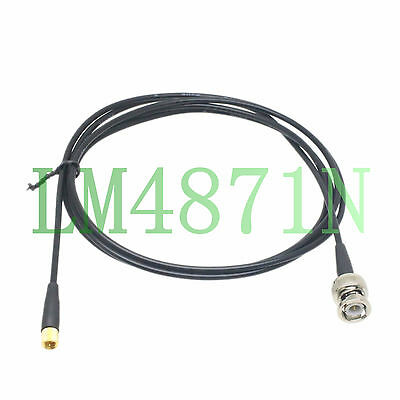 Microdot 10-32UNF to BNC 6FT Coaxial cable For Bruel Kjaer Accelerometer Sensor