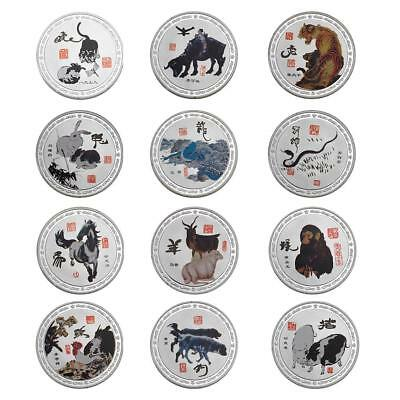Chinese Style Zodiac Series Commemorative Coin Master Chinese Zodiac Painting