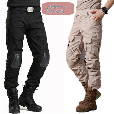 Mens Army Gen3 Combat Pants G3 Military City Tactical Cargo Trousers SWAT Casual
