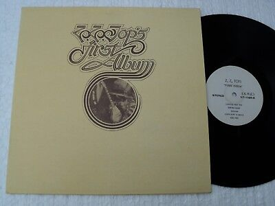 ZZ TOP - First Album  - Super rare/ unknown official TAIWAN release LP