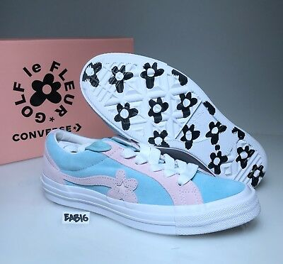 CONVERSE ONE STAR X GOLF LE FLEUR Plume Pink Marshmallow Blue Tyler The Creator