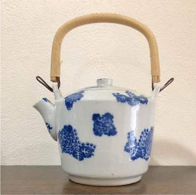 Antique Imari Teapot pottery useful Japan retro popular rare beautiful EMS F/S!