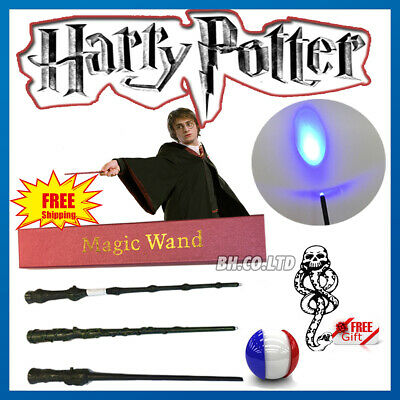 "14"" harry Potter Hermione Dumbledore magique Magic Wand avec LED Cosplay Party"