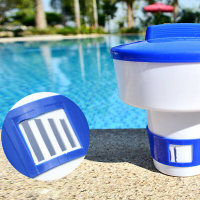 Swimming Pool Spa Tablet Cleaner Chemical Dispenser Floater Chlorine Bromine