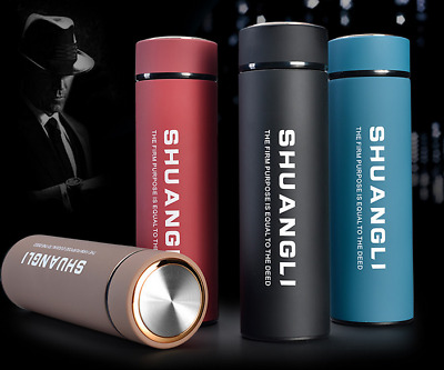 Portable Stainless Steel Travel Mug Water Thermo Vacuum Flask Thermal Cup Bottle