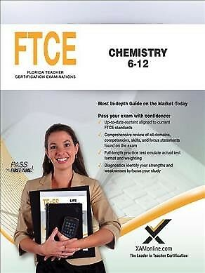 FTCE Chemistry 6-12 : Teacher Certification Exam, Paperback by Wynne, Sharon ...