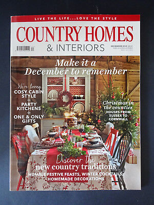 Country Homes & Interiors Magazine: Dec 2016: Decorations: Festive Feasts