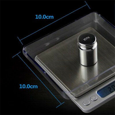 200-3000g 0.01 DIGITAL POCKET SCALES JEWELLERY ELECTRONIC 10 milligram micro gm