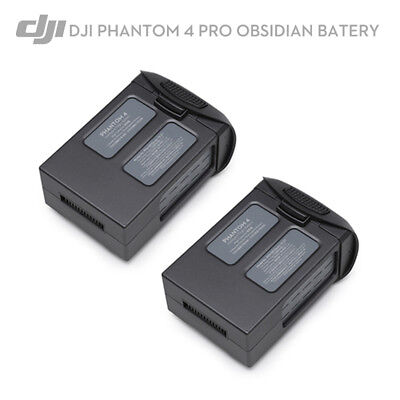 2PCS DJI Phantom 4 Pro Drone Intelligent Flight Battery Obsidian,5870 mAh 15.2V