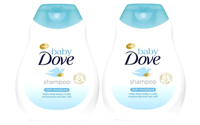 2-pack Dove Baby Rich Moisture Shampoo 200ml