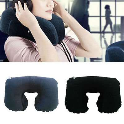 5A24 Double Sided Air Inflatable Pillow Mat Cushion For Travel Hiking Sleep