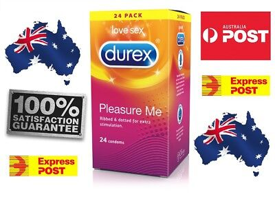 Durex Pleasure ME ribbed and dotted bulk pack 24 condoms cheapest FREE SHIPPING