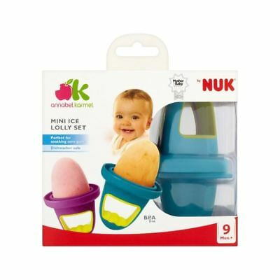 Annabel Karmel By Nuk Mini Ice Lolly Set (Pack of 6)