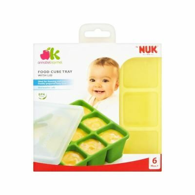 Annabel Karmel By Nuk Food Cube Tray (Pack of 6)