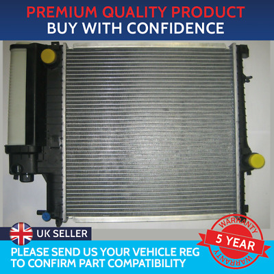 RADIATOR TO FIT BMW 3 SERIES E30 E36 BMW Z3 E36 PETROL 440mm by 440mm CORE
