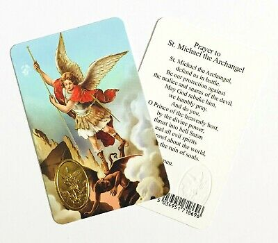 Prayer Cards - Assorted Saints - Laminated Credit Card Sized