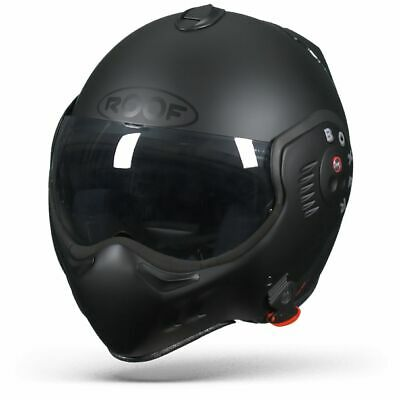 Roof Boxer V8 - FULL Noir - Casque Motocycle - Livraison Internationale Gratuite