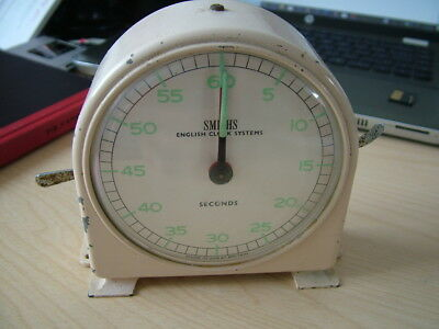Vintage Smiths, Darkroom Stop Clock Timer. Kitchen Timer.