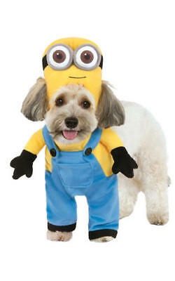 Minion Bob With Arms Despicable Me Fancy Dress Costume Outfit Dog Pet Puppy Xs