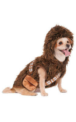 Rubies Chewbacca Fancy Dress Costume Outfit Dog Star Wars Wookie Pet Puppy S