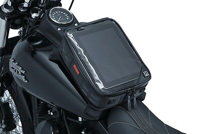 Co-Pilot Motorcycle Tank Bag with Map/Tablet/GPS Clear Pocket Touch Screen Comp