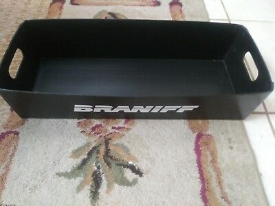 BRANIFF AIRLINES Snack Carrier  Holder BIn    33 x 10 inches       Rare