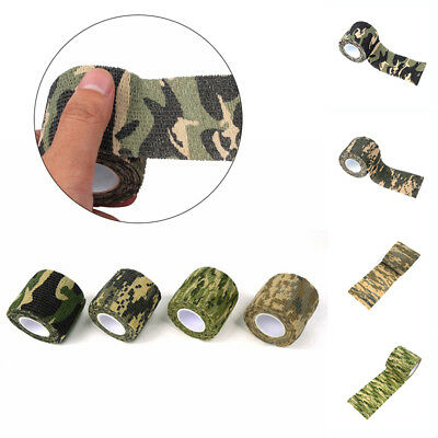 Sporting Camo Outdoor Hunting Camping Camouflage Stealth Tape Wraps 5cm x 4.5m