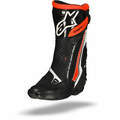 Alpinestars Smx Plus White Black Red Fluo Boots