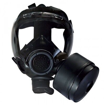 New MSA Millennium CBRN Riot Control Gas Mask MEDIUM