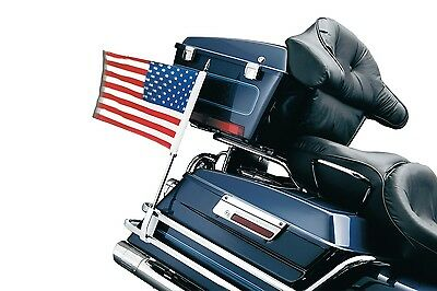 83-13 HD Ultra Classic & Electra Glide Classic Side Mount Flag Kit W/ 3 Flags