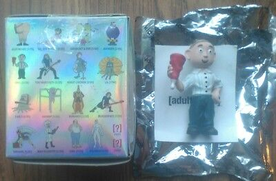 "Kidrobot Adult Swim Moral Orel 2/"" Vinyl Mini Figure Cartoon Network Toy"