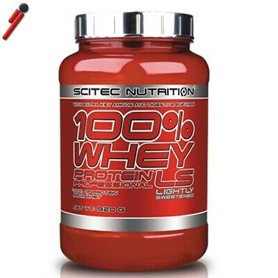 Scitec Nutrition, 100% Whey Protein Professional LS, 920 g. Proteine del siero d