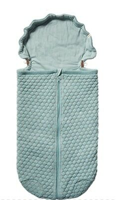 JOOLZ Essential Honeycomb Nest for Carseat Stroller Crib, NWOT, Mint, Unisex