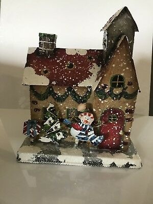 Home Interior Homeco Votive Candle Holder Gingerbread House
