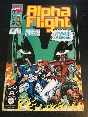 Alpha Flight#96 Incredible Condition 9.2(1991) The Master !!