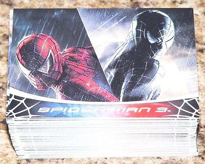 . Spider Man 3 by Rittenhouse in 2007. Complete 70 card +8 BTS cards + Checklist
