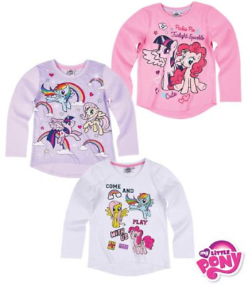 My Little Pony Long Sleeve Tshirt, T Shirt, Top, Licensed Product