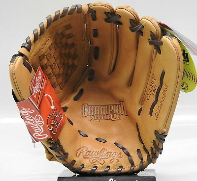 """Rawlings CL125BMT-6//0 Champion Lite 12.5/"""" Outfield Softball Glove RHT"""