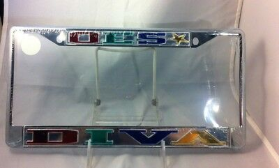 Order of the Eastern Star OES Diva License Plate Frame- New!