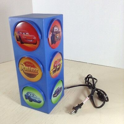 Disney Pixar Cars Traffic Stop Light Sign Nightlight Kids