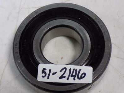 NIB SKF 63062RS1C3 BEARING RUBBER SEALED 6306 2RS1 C3 6306-2RS 30x72x19 mm