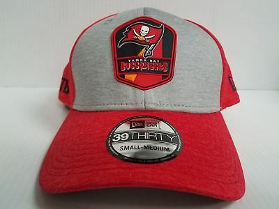 d4b36b91ce0 ... new arrivals tampa bay buccaneers cap new era 39thirty stretch on field  2018 rd sideline hat