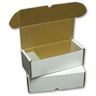 5x BCW 500 COUNT Corrugated Cardboard Storage Boxes Sports/Trading Cards ct box